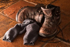 Hiking trail boots